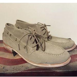 Vintage Shoe Company Boat Shoe Stone Suede Boots